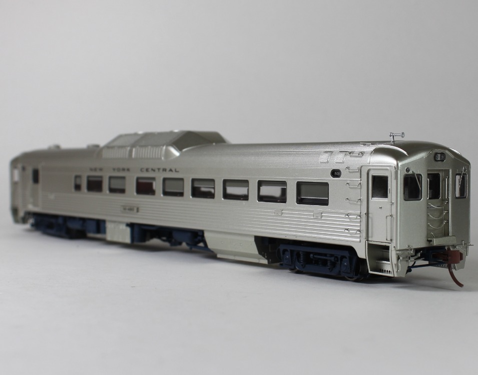 Budd RDC-2 DC/DCC (Sound): New York Central- Early (Phase 1b)