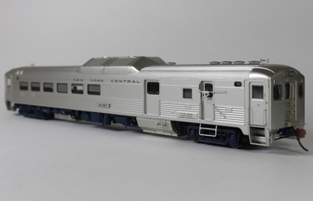 Budd RDC-3 DC/DCC (Sound): New York Central- Early (Phase 1b)