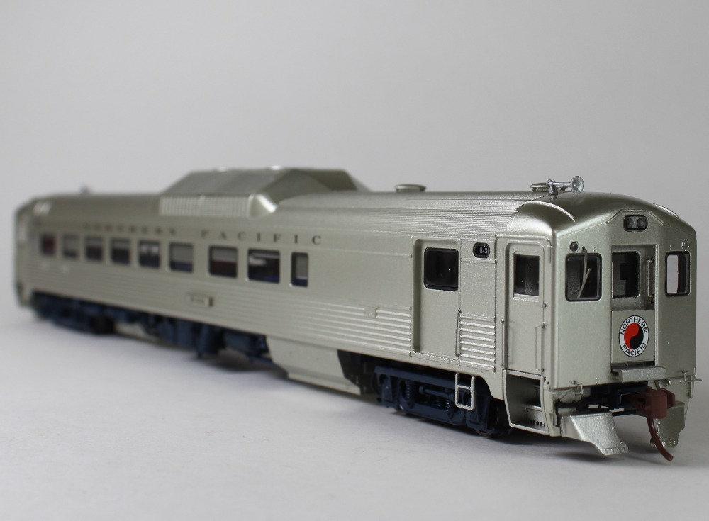 Rapido HO Budd  RDC-2 DC/DCC (Sound): Northern Pacific (Phase 1c)