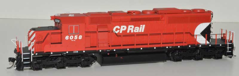 Bowser HO GMD SD40-2 w/ DCC+Sound CP B unit small Multimark