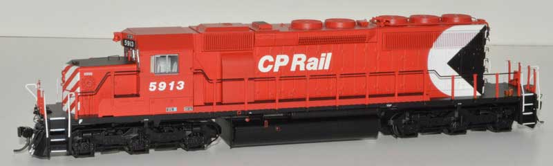 Bowser HO GMD SD40-2 w/ DCC+Sound Canadian Pacific Large Multimark 8