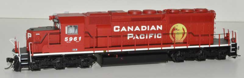 Bowser HO GMD SD40-2 w/ DCC+Sound Canadian Pacific Golden Beaver