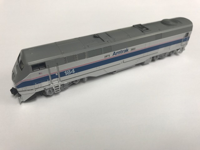 KATO N P42 Amtrak 40th Anniversary Phase IV