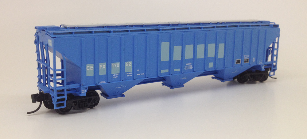 N Scale 4750 CEFX Hoppers