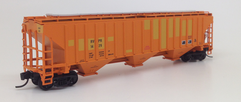 N Scale 4750 Hopper - RVPR
