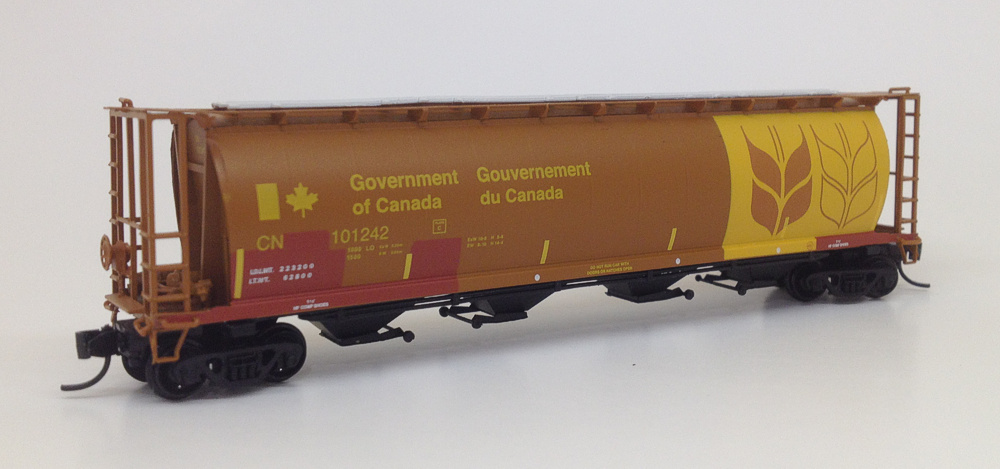 N Scale CYL Hopper - CN EX GOV OF CANADA