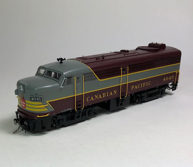 Rapido HO FA-2 Canadian Pacific Block