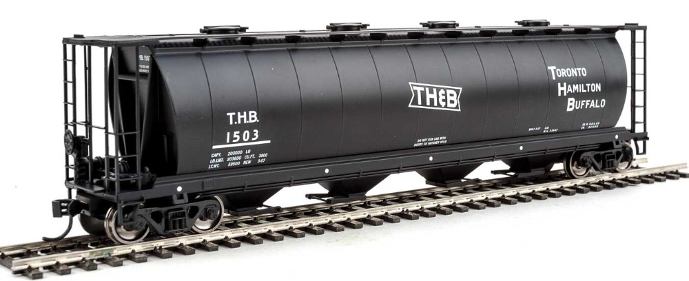 Walthers Mainline 59' Cyl hopper TH&B